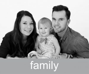 Family Photography Button