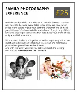 Family Photography Experience