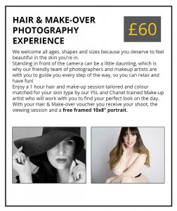 Hair & Make-Over Photography Experience Voucher No.1